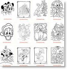 Disegni Disney Di Natale Da Colorare Per I Vostri Bambini Nuove