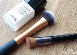 shiseido makeup perfect foundation brush