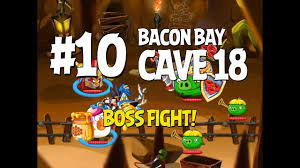 Angry Birds Epic Cave 18 Boss Fight! Level 10 - Bacon Bay - 3 Star  Walkthrough - iOS, Android - YouTube