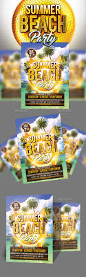 Summer Beach Party | Summer Beach Party, Party Flyer And Flyer Template