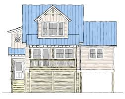 coastal cottage house plans. A Place In The Sun II Coastal Cottage House Plans