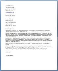 Best Photos Of Veterinarian Tech Resume Cover Letter Vet Tech