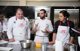 Dubai United Arab Emirates 02022016 Top Chef Cooking And