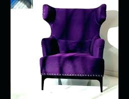 purple tufted chair furniture high back velvet accent chairs red dining slipper and ottoman