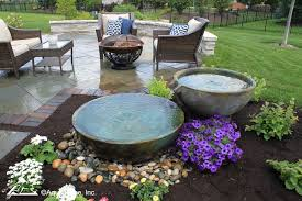 outdoor fountains water features