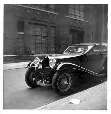 Модель автомобиля #bugatti 1959 года king leopold, в масштабе 1:8. Vintage Cohort Outtake Bugatti Type 57 Shot Curbside In Nyc 1959 Curbside Classic