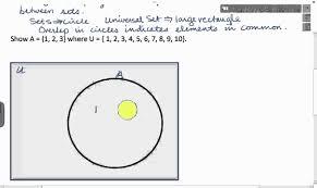 Venn Diagram Example 2 2 Subsets And Venn Diagrams Example P6