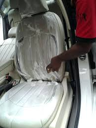 washing car seat covers interior part