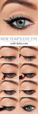simple easy step by step new year s eve eye makeup tutorial