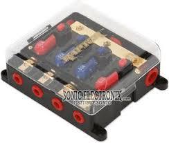metra pcdb x circuit breaker power distribution block circuit breaker distribution block 2 x 60 amp outputs 2 x 80 amp outputs