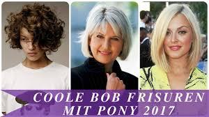 Coole Bob Frisuren Mit Pony 2017 Youtube