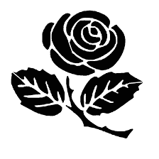 Stencil Rose Da Stampare Playingwithfirekitchencom
