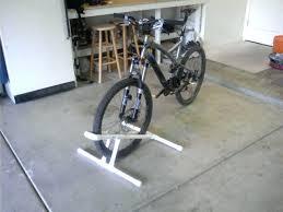 pvc bike rack truck bed road diy for plans pvc bike rack diy
