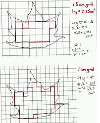 Surface Area Of A Leaf Teacher Sheet Science Netlinks