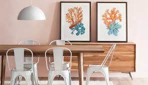office in dining room. With The Matt Office Chair. Make A Great Impression Arc As It Casts Glow And Curves From Its Marble Stand, While Subdued Forrest Hand-painted In Dining Room