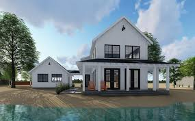home architecture house plan modern farmhouse with two story farm beds and floor plans one brick