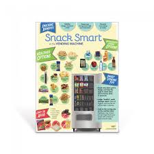 Smart Snacks Vending Machines Custom Snack Smart At The Vending Machine Poster