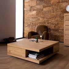 laroche square coffee table contemporary wooden coffee tables regarding large low square coffee tables image