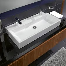 Why small trough bathroom sink with two faucets is a great choise .