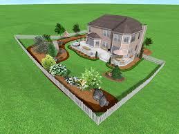 office landscaping ideas. Sloped Backyard Landscaping Ideas Office For  Yard Captivating Cool Brick Patio Post Office Landscaping Ideas