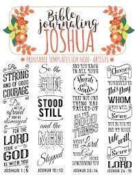 Art For Non Artists Joshua 4 Bible Journaling Printable Templates Illustrated