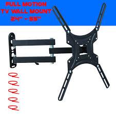 corner tv wall mount full motion bracket 32 39 40 42 46 led lcd flat