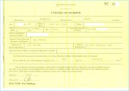 Birth Certificate Template Us Sample New Fabulous 10 Best