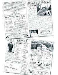 Newspaper Engagement Announcement Templates Newspaper Announcement Template