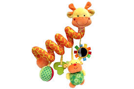 3 to 6 months giraffe baby crib toy from crib critters