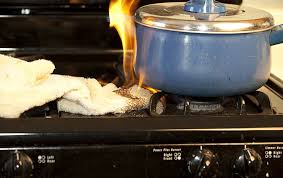 Kitchen Stove Fire