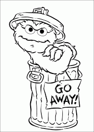Sesame Street Coloring Pages 360coloringpages
