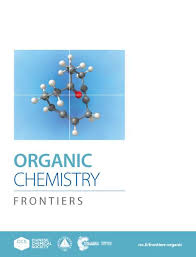 Chemistry Cover Page Designs Organic Chemistry Frontiers