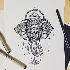 elephant henna | Tumblr | Tattoos, Elephant tattoos, Tattoo designs