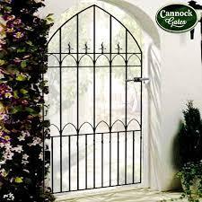 royale gothic metal garden side gate
