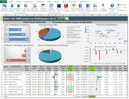 Financial Statement Software Free Findynamics Consolidated Financial Statement In Excel Using Xbrl