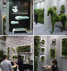 Small Picture Synthetic Vertical Green Wall Artificial Grass Wall Hanging Plants