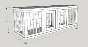 homemade dog kennels 2. Double Dog House Plans Mediumg Kennel Duplex Designsuble Decker Homemade Kennels 2