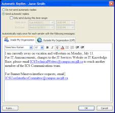 Automatic Respond Set Up An Out Of Office Reply In Outlook 2016 2013 2010