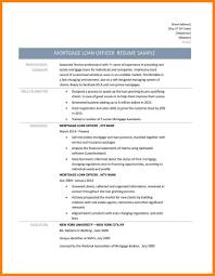 9 Loan Officer Resume Mortgage Originator Resume Resume Samples