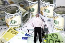 Currency Dollar Euro Exchange Prices Chart Rolled Hundred