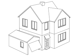 Small Picture Elegant House Coloring Pages 23 On Coloring Print with House