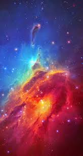iphone 6 background space.  Space Stunning Colorful Space Nebula IPhone 6 Plus HD Wallpaper Inside Iphone Background N