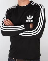 adidas long sleeve. adidas originals long sleeve t shirt black