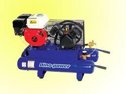 compresor de aire de gasolina. 5.5hp gas-compresor con acoplamiento por correas. motor de gasolina compresor aire o