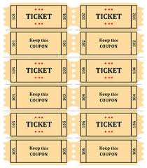 free ticket design template 15 free raffle ticket templates in microsoft word mail merge raffle