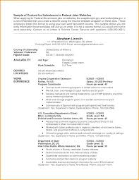 Sample Federal Job Resume Format Resumes Guidance Classy Usajobs Resume Sample