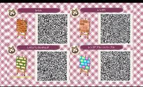 Animal Crossing QR-Codes Floor Brick ...