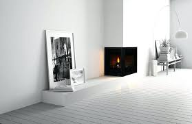 gas fireplace corner unit vented vent free mantel designs natural small