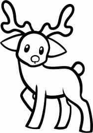 how to draw a reindeer for kids step 6