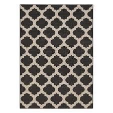 surya alfresco black and cream area rug view larger